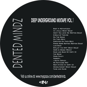 Deep Underground Mixtape Vol. 1 (Disc)