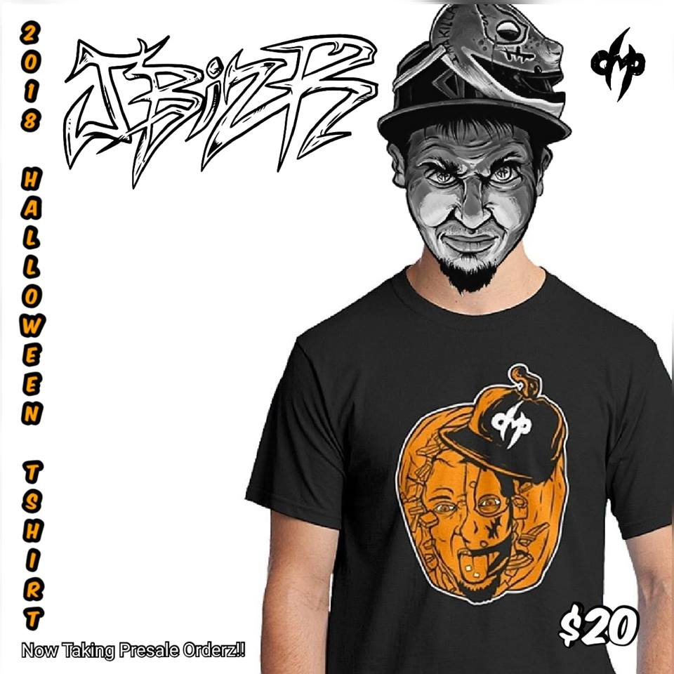 2018 J BIZ R HALLOWEEN TSHIRT (Limited Edition)