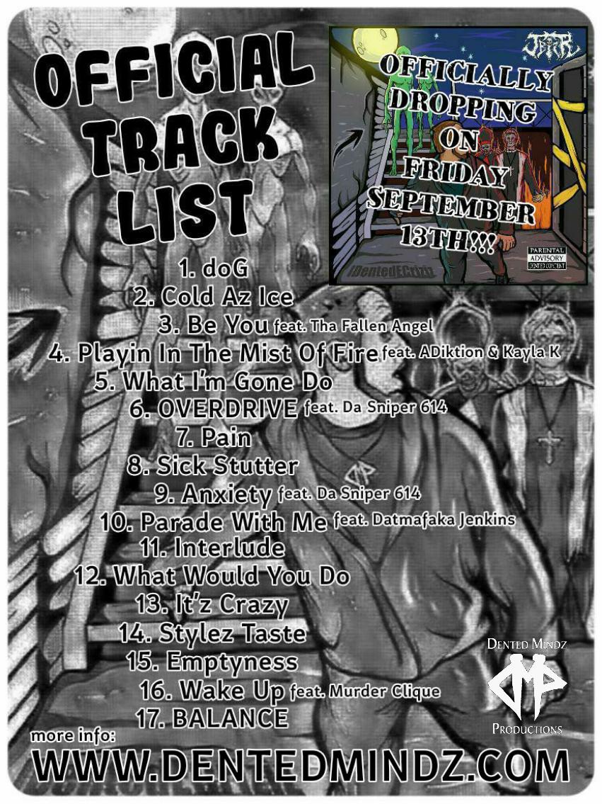 IDEC Promo Official Track List
