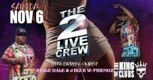 2 Live Crew show flyer